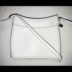 Coach #Rare 9062 Mambo White Leather Shoulder bag